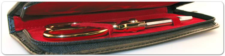 """10 1/2"""" Ceremonial Scissors Presentation Case"""