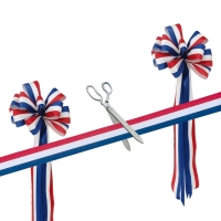 "15"" Ceremonial Scissors Grand Opening Kit"