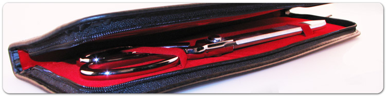 "15"" Ceremonial Ribbon Cutting Scissors Presentation Cases"