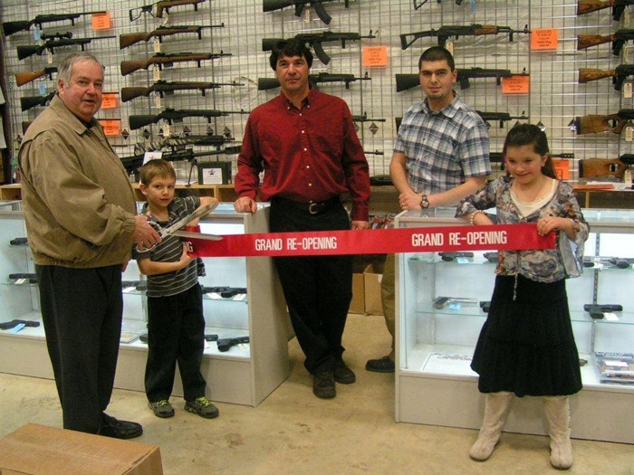 "A Grand Re-Opening Ribbon Cutting Ceremony with 15"" Chrome Plated Scissors"
