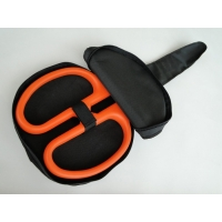 "25"" Ceremonial Scissors Carrying Case - Orange Handles"