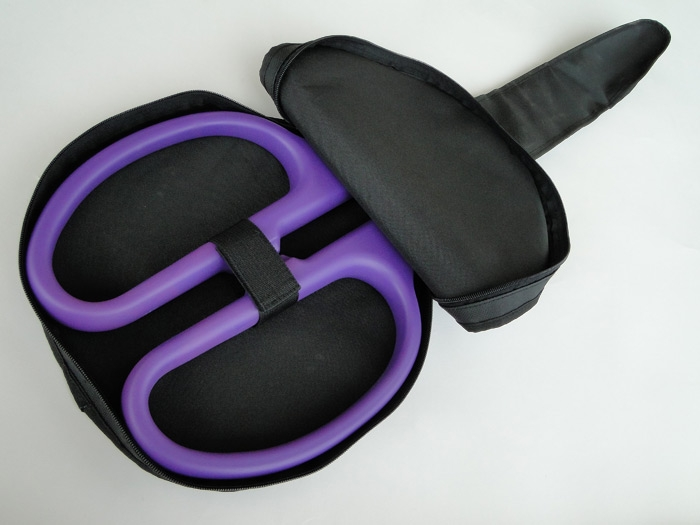 "25"" Ceremonial Scissors Carrying Case - Purple Handles"