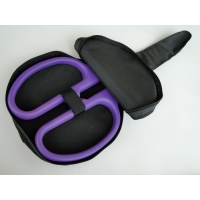 "25"" Ceremonial Scissors Carrying Case - Purple Handles"