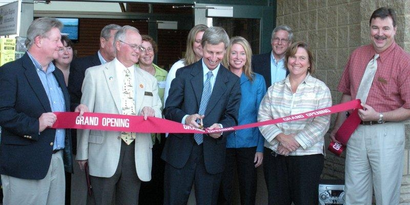 Governor John Lynch Ribbon Cutting