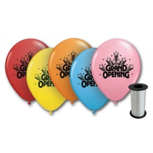 Assorted Grand Opening Balloons