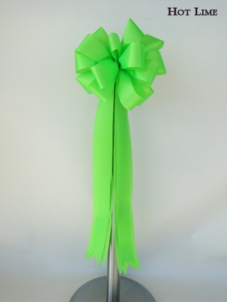 Hot Lime Ceremonial Bow