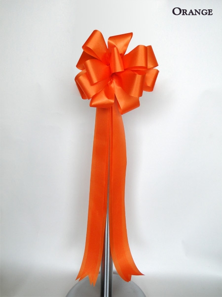 Orange Ceremonial Bow