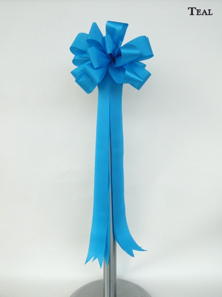 Teal Ceremonial Bow