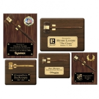 Removable Gavel Plaques