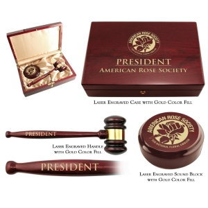 Supreme Gavel Presentation Set