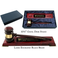 Piano Finish Gavel Set