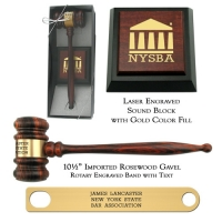 Imported Rosewood Director Presentation Set