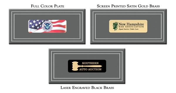 Full Color Plates for President Presentation Sets