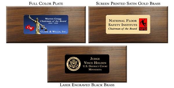 Plates for Walnut Presentation Sets