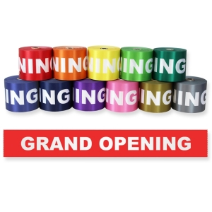 "6"" Grand Opening Ribbon"