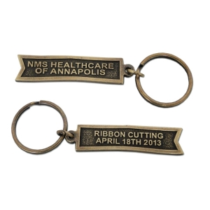 Ceremonial Ribbon Cutting Keychain