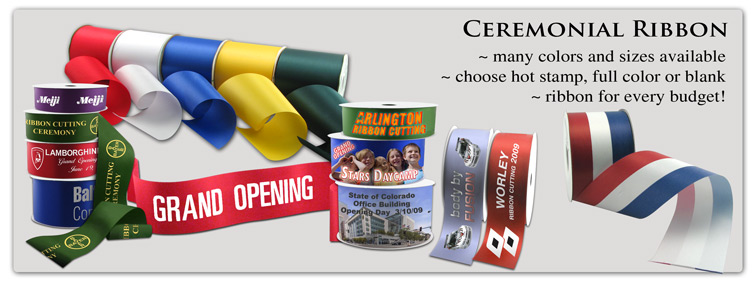 Ceremonial Ribbon for your Grand Opening!