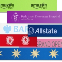 Foil Printed Satin Ribbon