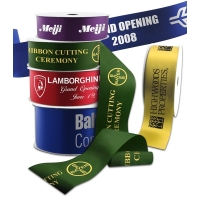 Hot Stamped Ceremonial Ribbon