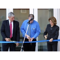 15 inch Gold Ceremonial Scissors used for Hoosac Hall Renovations Ribbon Cutting Ceremony 2012
