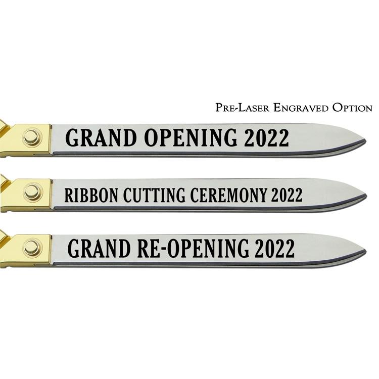 """Pre-Laser Engraved Option, 20"""" Blades"""