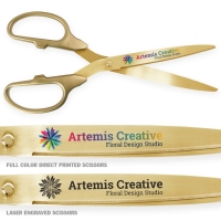 "25"" Gold Scissors with Gold Blades"