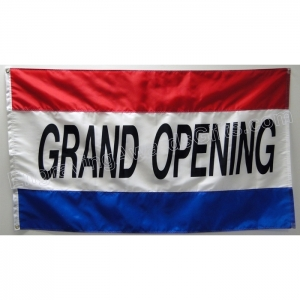 Grand Opening Flag, 5' x 3'