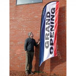 Street Talker Feather Flag