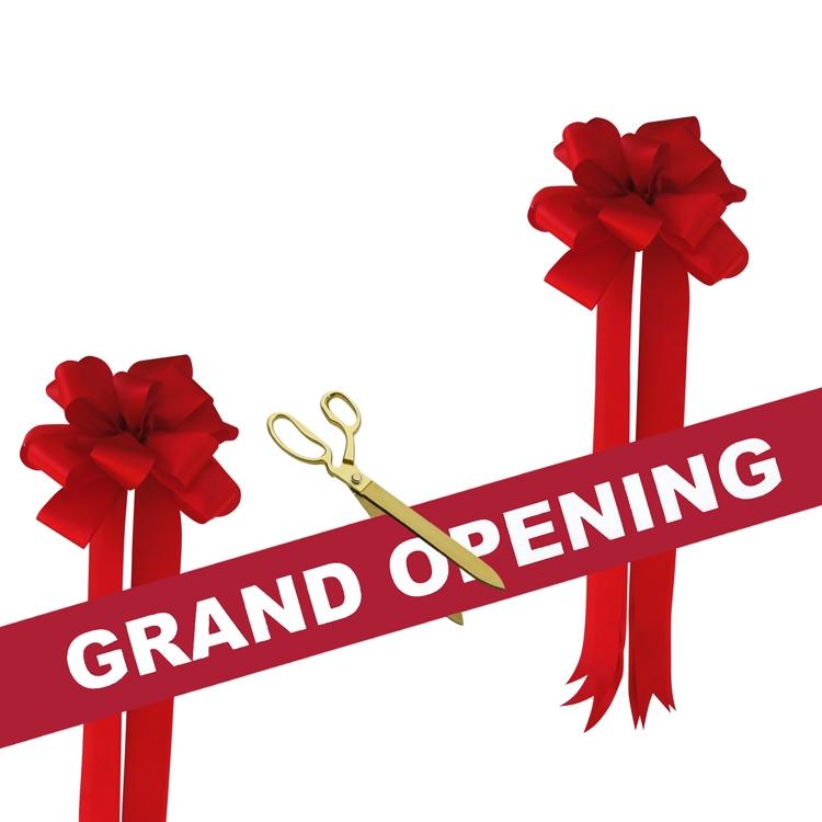 "Grand Opening Kit 15"" Gold Ceremonial Scissors"