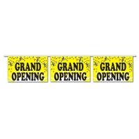 Grand Opening Confetti Pennants