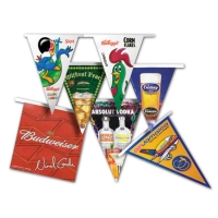 Custom Color Pennants