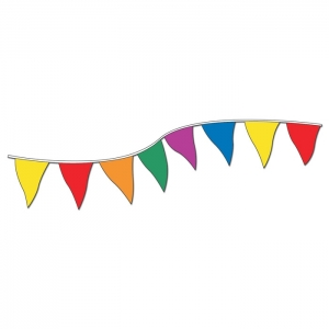 Multi-Color Pennants