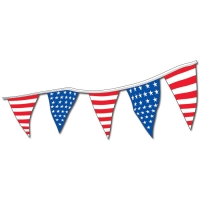 Stars & Stripes Pennants