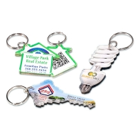 Custom Acrylic Key Tags for Grand Openings and Ribbon Cuttings