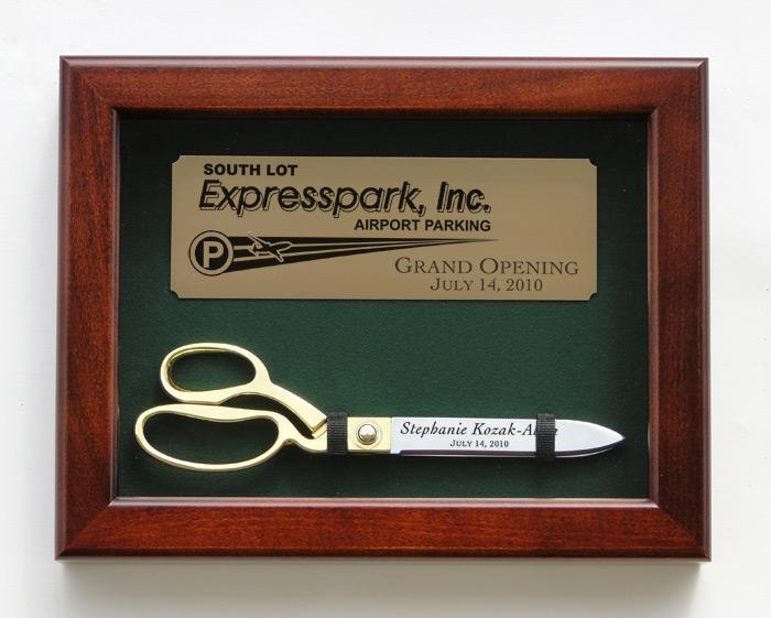 """10 1/2"""" Ceremonial Scissors Display Case"""