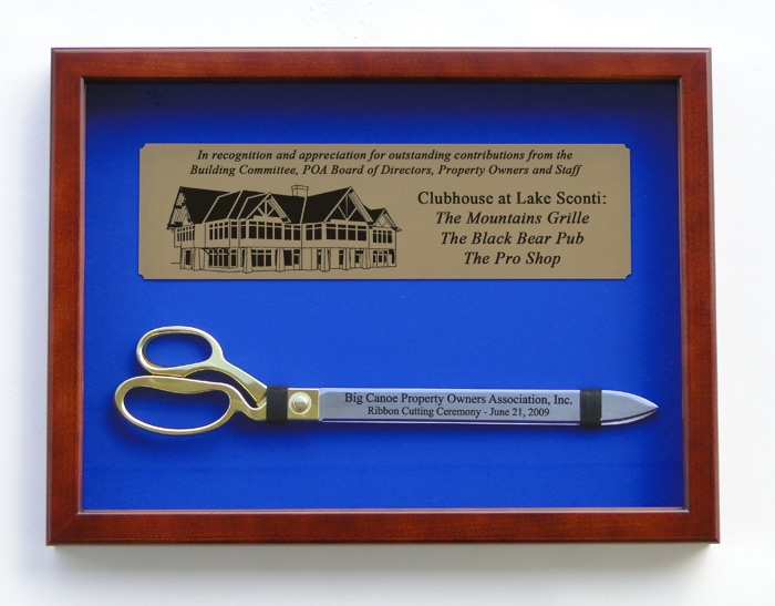 """20"""" Ceremonial Ribbon Cutting Scissors with Case"""