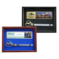 "Ceremonial Display Case for 20"" Ceremonial Scissors"