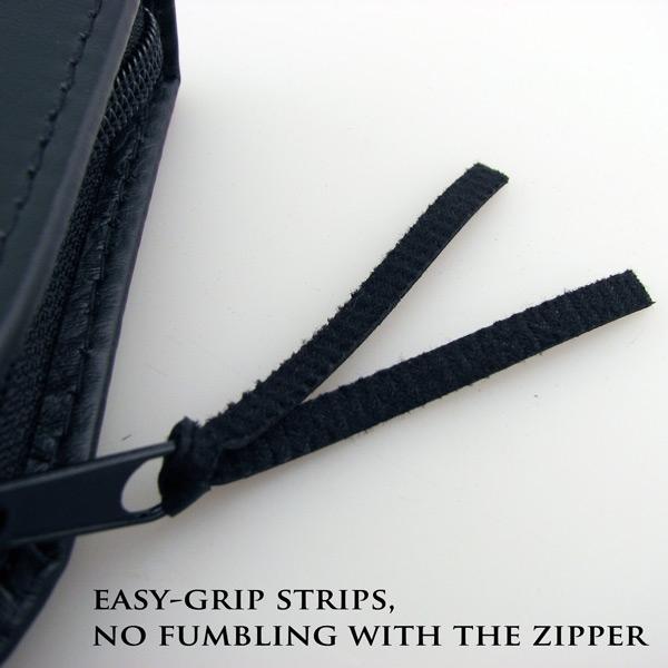 Presentation Case Zipper Closeup