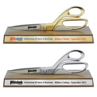 "9-1/2"" Ceremonial Scissors Horizontal Display Stand"