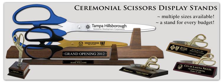 Ceremonial Scissors Display Stands