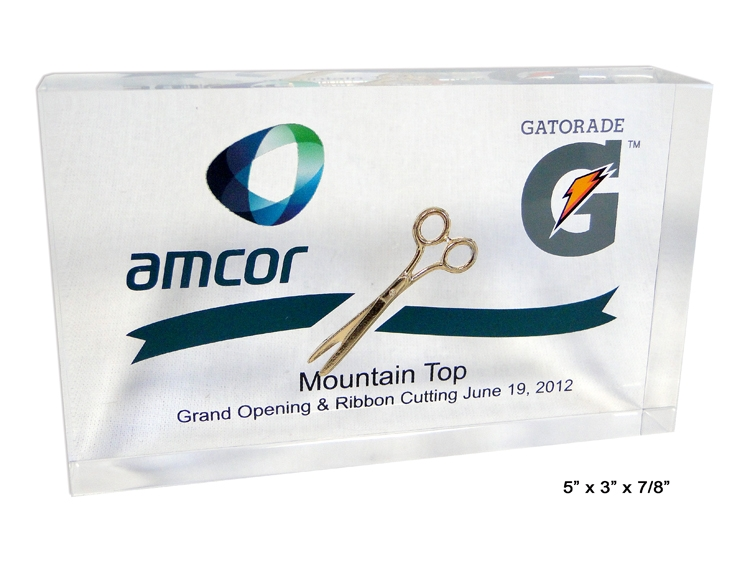 Grand Opening & Ribbon Cutting Even Embedment
