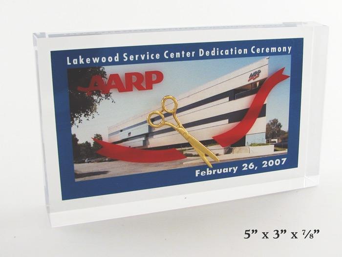 Ceremonial Scissors Embedment with a Digital Card