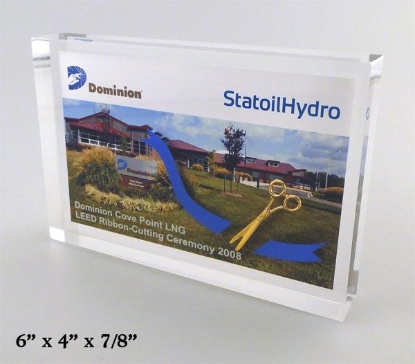 Ceremonial Scissors Embedment with Digital Card