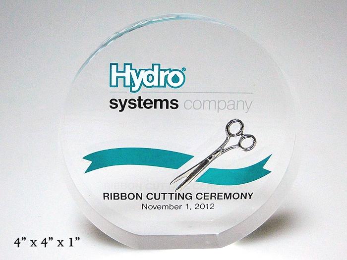 Scissor Embedment - Hydro Systems Ribbon Cutting