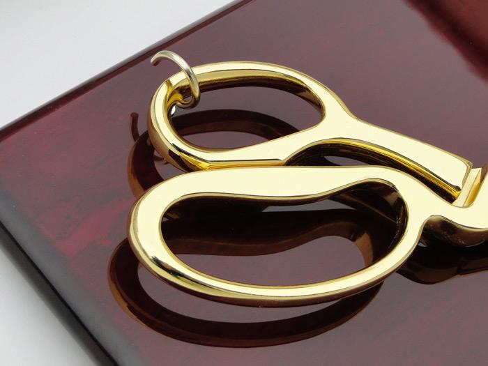 """20"""" Ceremonial Ribbon Cutting Scissors Plaque"""
