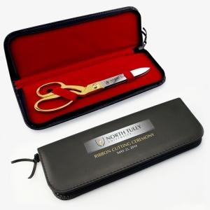 "Black Presentation Case for 10-1/2"" Ceremonial Scissors"