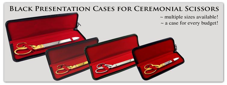 Ceremonial Scissors Presentation Cases