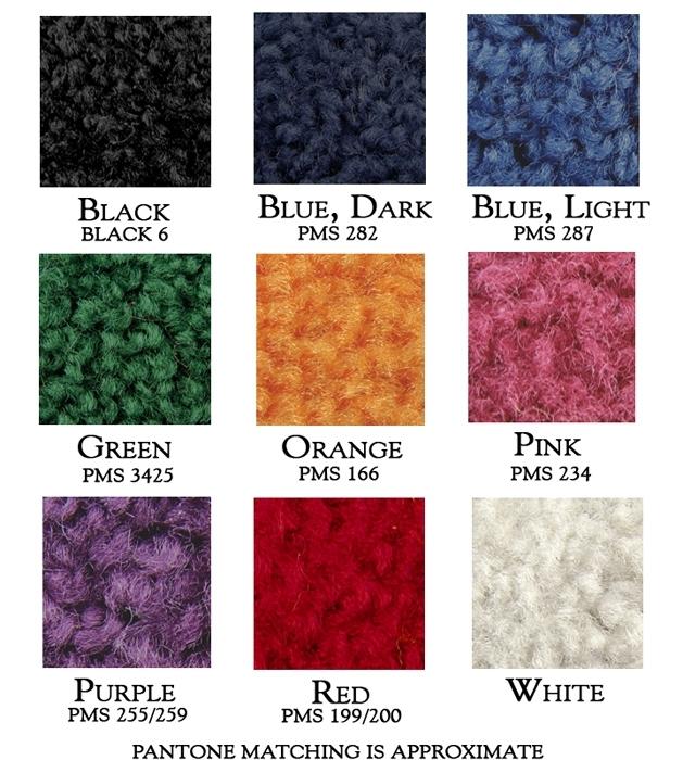 Ceremonial Carpet Colors