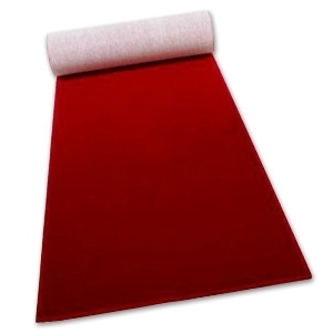 Red Ceremonial Carpet