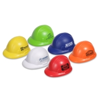 Hard Hat Stress Relievers in Assorted Colors